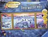 Ravensburger schilderen op nummer Kleurrijke onderwaterwereld
