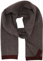 Profuomo sjaal knitted scarf red_ONESIZE, maat One size