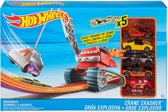 Hot Wheels Kraan Crasher Speelset