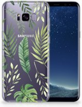Samsung Galaxy S8 Plus TPU siliconen Hoesje Leaves