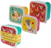 Set van drie doosjes lama , puckator