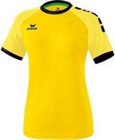 Erima Zenari 3.0 Dames Shirt - Voetbalshirts  - geel - 36
