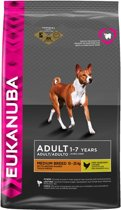 Eukanuba Dog Adult - Medium Breed - Kip - Hondenvoer - 12 kg