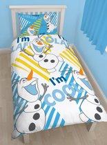 Olaf de Sneeuwpop Dekbedovertrek