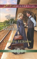 Want Ad Wedding (Mills & Boon Love Inspired Historical) (Cowboy Creek, Book 1)