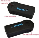 Wireless Bluetooth Audio Receiver | Draadloze Ontvanger voor Auto & Speaker