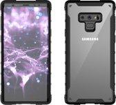 Samsung Galaxy Note 9 Araree Duple Series Anti Shock Back Case Cover - Zwart / Transparant