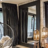 Spiegel Houten Lijst Zwart 250 x 180| Grote Staande Spiegel Handgemaakt