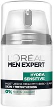 L'Oréal Men Expert Hydra Sensitive Gezichtscrème - 50 ml - Gevoelige Huid