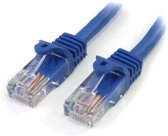 StarTech.com 5 ft Blue Snagless Category 5e (350 MHz) UTP Patch Cable