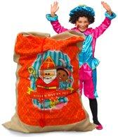 Jute zak Groot Sinterklaas Vintage - 100x150 cm