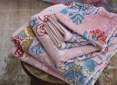 Pip badgoed Berry Bird pink - handdoek 55x100 cm