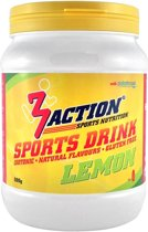 3action Sportdrank Lemon 500 Gram