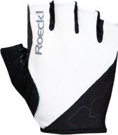 Roeckl Bologna Handschoenen, white/black Handschoenmaat 6