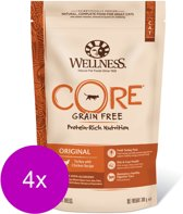 Wellness Core Grain Free Cat Original Kalkoen&Kip - Kattenvoer - 4 x 300 g