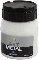Art Metal verf, zilver, 250 ml