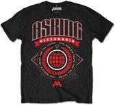 Asking Alexandria - This World heren unisex T-shirt zwart - S