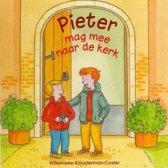 Pieter mag mee naar de kerk