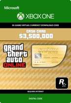 Grand Theft Auto V - Whale Shark Cash Card $ 3.500.000 In-Game Virtual Currency - Xbox One