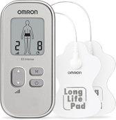 Omron TENS E3 Intense - Elektrodentherapie apparaat - Zilver