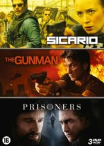 Sicario + The Gunman + Prisoners (3 DVD Boxset)