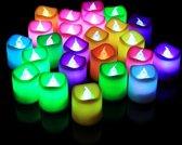 RGB Kaarsen Set 24 Stuks