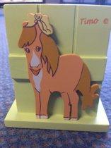 Pennenbakje paard