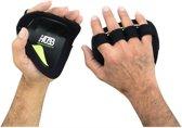 Palm Grip Pads Fitness Gym Training Handschonen Groen