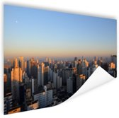 Sao Paulo in ochtendlicht Poster 60x40 cm - Foto print op Poster (wanddecoratie woonkamer / slaapkamer) / Steden Poster