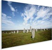 De historische Calanais Standing Stones in Schotland Plexiglas 30x20 cm - klein - Foto print op Glas (Plexiglas wanddecoratie)