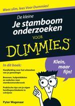 Voor Dummies - De kleine Je stamboom onderzoeken voor Dummies