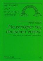'Neuschoepfer des deutschen Volkes'