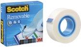 12x Scotch plakband Magic  Tape Removable
