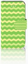 iPhone 5S | SE Bookcase Waves Green