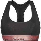 Calvin Klein bralette - zwart/rose goud