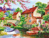 Diamond Dotz ® painting Coming Home (77x62 cm) - Diamond Painting
