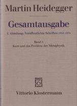 Martin Heidegger, Kant Und Das Problem Der Metaphysik