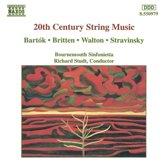 20th Century String Music / Studt, Bournemouth Sinfonietta