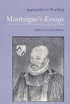 Approaches to Teaching Montaigne's Essays
