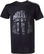 STAR WARS REBEL - T-Shirt Darth Vader Word Play - (XL)