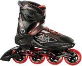 Fila Inline Skates Primo 84 Heren Zwart/rood Maat 40.5