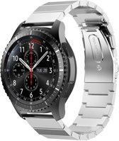 RVS zilver metalen bandje voor de Samsung Gear S3 | Galaxy watch 46mm SM-R800 | Watchbands-shop.nl