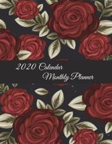 2020 Calendar Monthly Planner