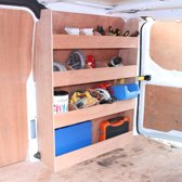 Monster Racking Ford Transit Custom SWB Bedrijfswagen interieur- Bestelbus Opslag Stelling Kast Bed