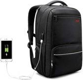 Tigernu Guard - laptop rugzak - anti diefstal USB - 12,5 tot 15,6 Inch - zwart