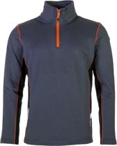 Icepeak Chris Thermo  Sportshirt - Maat XL  - Mannen - grijs/oranje