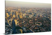Panorama van Tianjin Aluminium 120x80 cm - Foto print op Aluminium (metaal wanddecoratie)