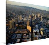 Luchtfoto van het Noord-Amerikaanse Oakland Canvas 140x90 cm - Foto print op Canvas schilderij (Wanddecoratie woonkamer / slaapkamer)