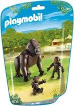Playmobil Gorilla met baby's  - 6639