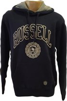 Russell Athletic Sweater met Capuchon - Navy - Maat L